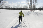 Cross Country skier in Ohio