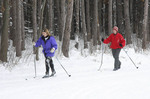 Cross country skiers in Northeast Ohio