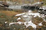 Autumn Scene With Snow Cleveland Metroparks, Ohio