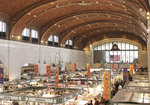 Interior view of the Westside Market in Clevalnd, Ohio