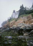 Bass Harbor Lighthouse, Acadia National Park, Maine,