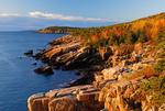 Morning Along the Coastline in Acadia National Park, Maine, USA
