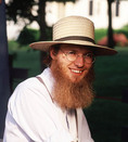 Young Amish man in Pennsylvania
