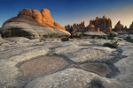Rock formations in The Needles district, Canyonlands National Park, Utah