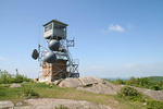 Firetower on Pitcher Mountain, Stoddard New Hampshire