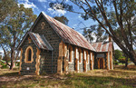 Old St Columba's Church 1910 in Bookham near Yass New South Wales Australia