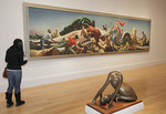 "Washington DC, Smithsonian American Art Museum, painting, exhibition, ""Achelous and Hercules"""