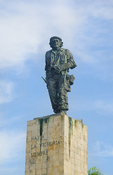Santa Clara Cuba statue and grave site of Che Guevara the hero from Revolution in Cuba