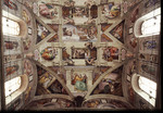 Ceiling of the Sistine Chapel Vatican Museums Vatican City, Rome, Italy