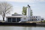Old U.S.Coast Guard station in Clevealnd, Ohio