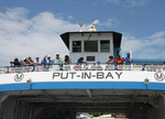 The ferry to Put-in-Bay on the Lake Erie Islands