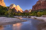 Early Morning Light in Zion Canyon