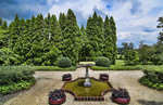 Ladew Topiary Gardens Maryland beautiful sculptured plants fountain Pink Garden gardens and flowers for tourist