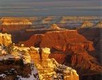 Winter Sunrise at Maricopa Point on South Rim of Grand Canyon National Park, Arizona, AGPix_0021