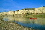 Canoeing the Upper Missouri Wild and Scenic River, White Rocks area, Upper Missouri River Breaks National Monument, Loma, Montana, AGPix_0049