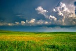 Storm clouds over the prairie at Grand River National Grassland, southwest of Lemmon, South Dakota, AGPix_0084
