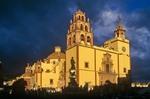 Basilica De Nuestra Senora De Guanajuato on Plaza De La Paz in City of Guanajuato, Mexico, AGPix_0111