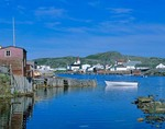 Outport of Fogo, a fishing village on Atlantic Coast, Fogo Island, Newfoundland, Canada, AGPix_0232