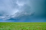 Severe storm over Great Plains of  the Llano Estacado, Staked Plains, near Portales, New Mexico, AGPix_0266