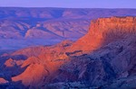 Sunrise on Rim of Vermilion Sunrise on Vermilion Cliffs on rim of Paria Plateau, Vermilion Cliffs National Monument, near Page, Arizona, AGPix_0273