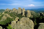 Cathedral Spires in the Black Hills of South Dakota, AGPix_0335