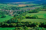 Village of St. Pere in French countryside, Cure Valley, near Vezelay, Burgundy, France, AGPix_0363
