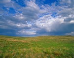 Sky over Sand Hills grasslands at Valentine National Wildlife Refuge, south of Valentine, Nebraska, AGPix_0390