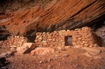 Ruins of ancient indian pueblo, Red Rock-Secret Mountain Wilderness Area, Coconino National Forest, Sedona, Arizona, AGPix_0393