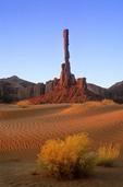 Sunrise on the Totem Pole at Monument Valley Navajo Tribal Park, Arizona, AGPix_0398