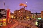 Historic downtown Flagstaff at Corner of Aspen & San Francisco Street, Flagstaff,   Arizona, AGPix_0401