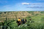 Trail Riding in Prairie and Badlands AGPix_0424