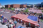 4th of July Parade on Aspen Street in historic downtown Flagstaff, Arizona, AGPix_0425