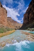 Blue waters of the Little Colorado River, Navajo Indian Reservation, Arizona, AGPix_0428