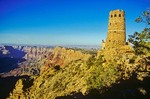 Desert View Watchtower on South Rim, Grand Canyon National Park, Arizona, AGPix_0447