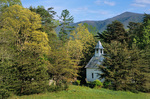 Methodist Church at Cades Cove, Great Smoky Mountains National Park, near Townsend, Tennessee, AGPix_0453