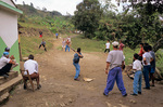 Village Baseball Game, Dominican Baseball game being played in rural village in the Cordillera Central Mountains near town of Jarabacoa, Dominican Republic, AGPix_0457    