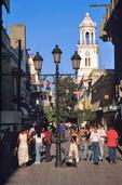 El Conde pediestrian street in Colonial District of Santo Domingo, Dominican Republic, AGPix_0458