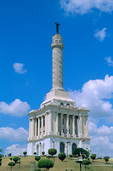 Monument of the Heroes, White Marble Monument at City of Santiago, Cibao Valley, Dominican Republic, AGPix_0463