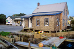 Waterfront shop in Ocracoke Village on Ocracoke Island, North Carolina, AGPix_0474