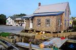 Waterfront shop in Ocracoke Village on Ocracoke Island, North Carolina, AGPix_0474