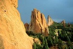 Garden of the Gods, view near Hidden Inn, Colorado Springs, Colorado, AGPix_0523