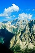 Julian Alps, Triglav National Park, Julian Alps, Triglav National Park, above Pisnica Valley near Vrsic Pass, Kranjska Gora, Slovenia, AGPix_0551