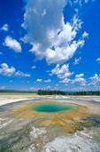 Opal Pool, a thermal feature in Midway Geyser Basin at Yellowstone National Park, Wyoming, AGPix_0591