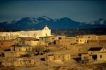 Old Laguna Village Pueblo, San Jose Mission church along I-40, New Mexico, AGPix_0668