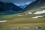Alpine tundra and unnamed lake south of Murray Lake in Katmai National Park, Alaska, AGPix_0773