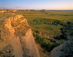 Bluffs at Pawnee Buttes in the Pawnee National Grasslands on the High Plains of Weld County, Colorado, AGPix_0789