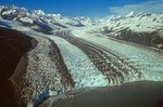 Havard Glacier, aerial view in College Fiord, Chugach National Forest, Prince William Sound, Alaska, AGPix_0829