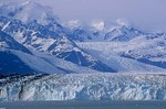 Tidewater face of Havard Glacier in College Fiord, Chugach National Forest, Prince William Sound, Alaska, AGPix_0831