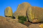 Spheroidal granite boulders in the Wichita Mountains National Wildlife Refuge near Lawton, Oklahoma, AGPix_0878