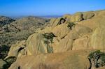 Granite rocks on summit of Elk Mountain in the Wichita Mountains National Wildlife Refuge, near Lawton, Oklahoma, AGPix_0879